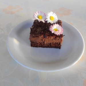 Сочни чоколадни коцки (без јајца)