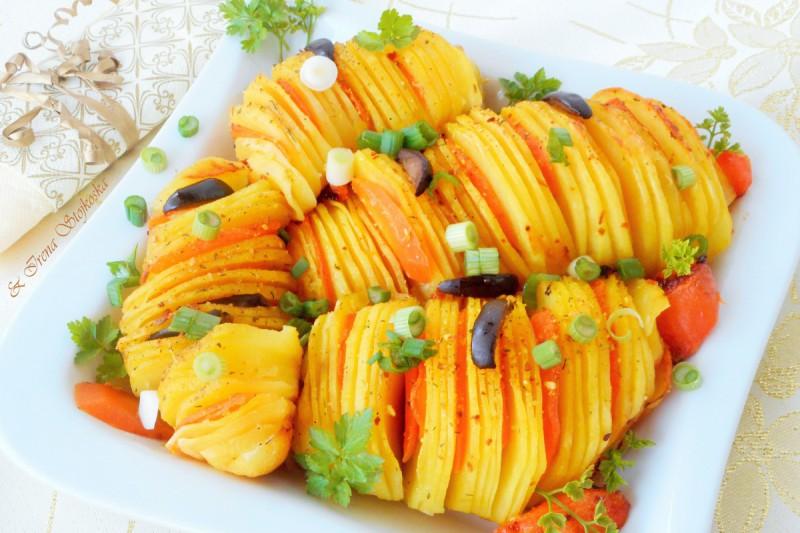 Печени компири - лепеза (посно)