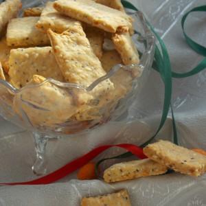 Путер крекери со семиња