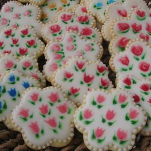 Порцелански ванила цветови