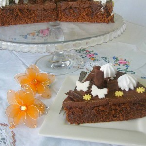 Пролетна торта со чоколадо