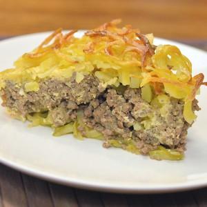 Видео рецепт: Спирална мусака од компири и тиквички