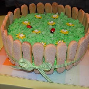 Брза цветна торта