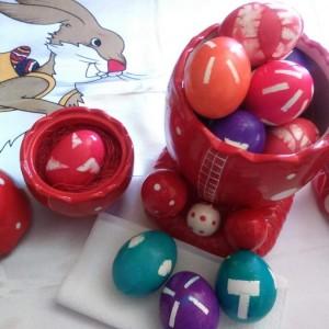 Вапцање јајца со селотејп