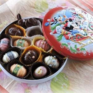 Ситни Велигденски колачи со суво овошје