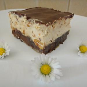 Сникерс торта без брашно