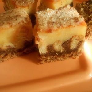 Брза торта со пудинг, ореви и чоколадо (посно)