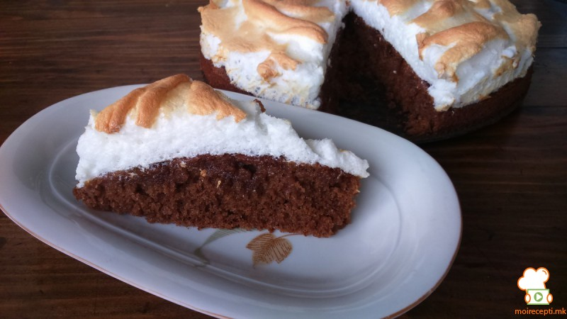 Брза чоко торта со мармалад