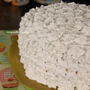 Какао карамел торта (посно)