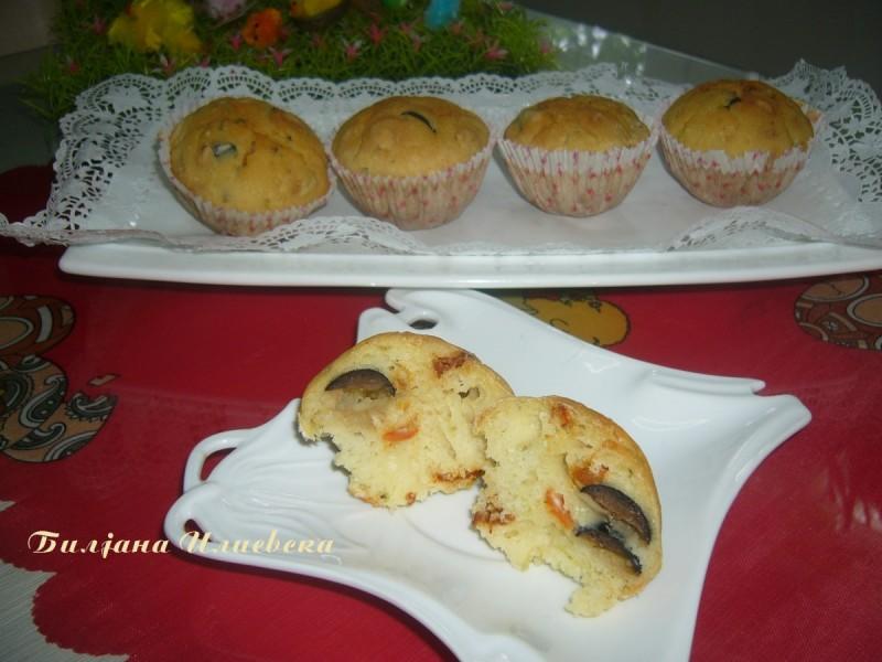 Посни солени мафини (без масло)
