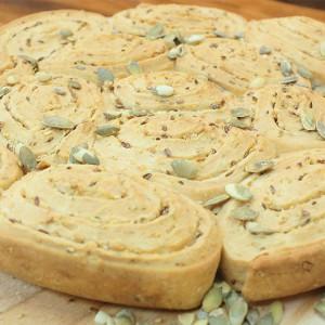 Видео рецепт: Посна погача со семиња