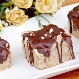 Рустични колачи со индиски ореви (посно)