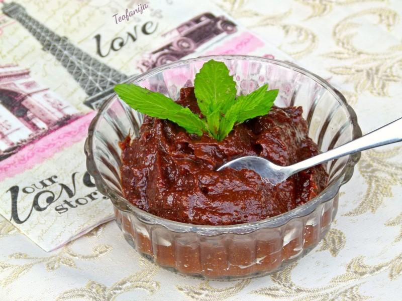 Здрав екстра чоколаден крем (сурово, посно, веган)