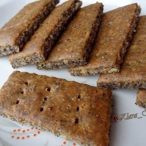 Солени бисквити од хељда и урда