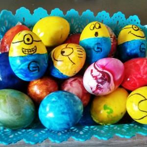 Велигденски јајца МИНИОНС