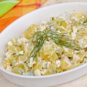 Оброк со варен компир
