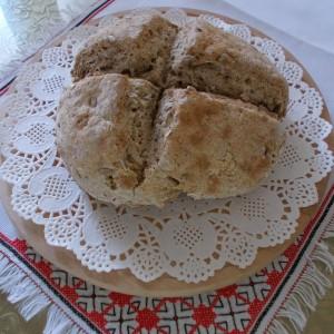 Ирски леб со семки од сончоглед