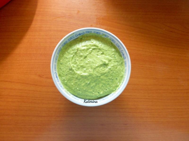Зелен дип или намаз