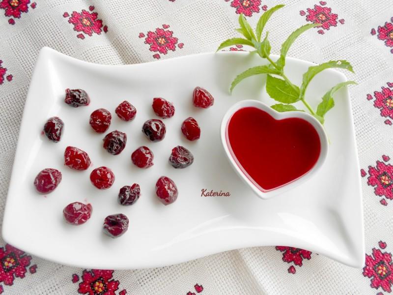 Домашни кандирани вишни (без варење)