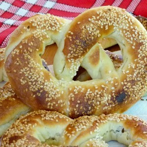 Переци со маслинки и инстант пире (посно)