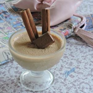 Летен чоко кафе десерт