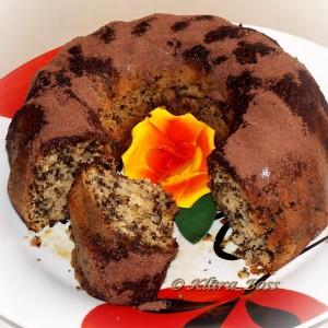Кокос куглоф со чоколадни трошки