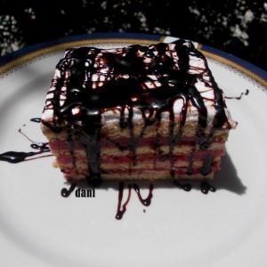 Брз кекс колач со малини