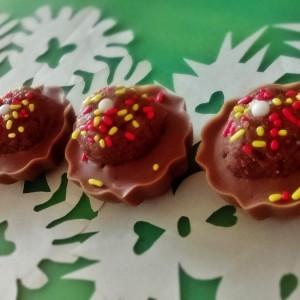 Чоколадни корпи со чоко бананчиња (без печење, без миксер)