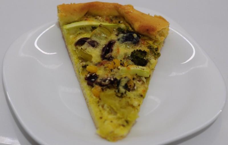 Бела вегетаријанска пица