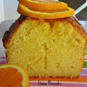Ароматичен колач со портокал и кардамом