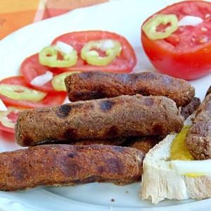 Ќебапи од црвен грав и хељда (посно)