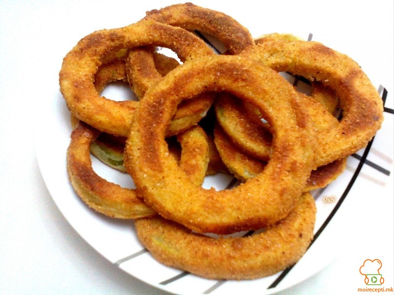Крцкави прстени од тиквички