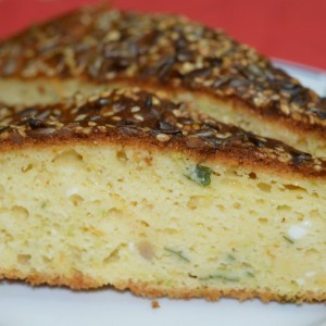 Солена торта со тиквица