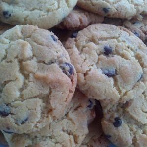 Крцкави колачиња со чоколадо (американски)