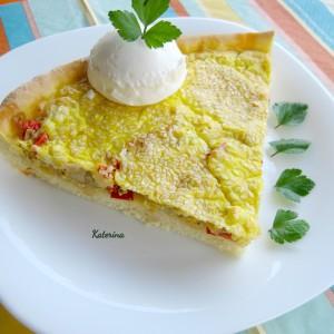 Солен македонски тарт