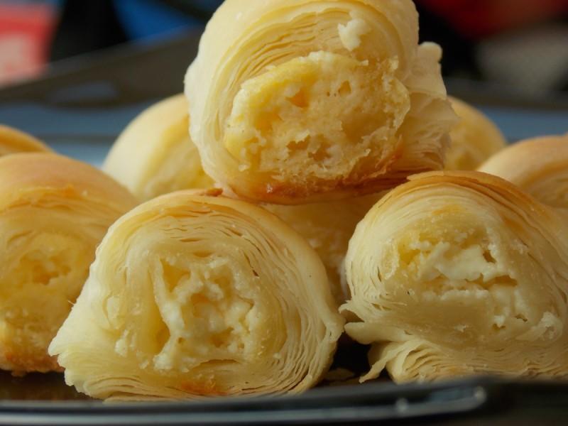 Совршено лиснато тесто (без маргарин)