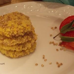 Ќофтиња од хељда, просо и компир