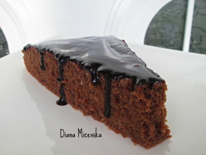 Чоколаден колач (посно,без масло)