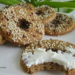 Хроно кекси со ржано брашно