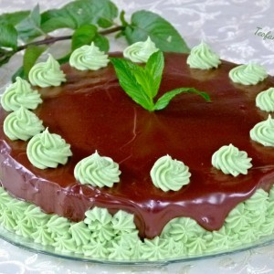 Ментол чоколадна торта - Аfter eight cake