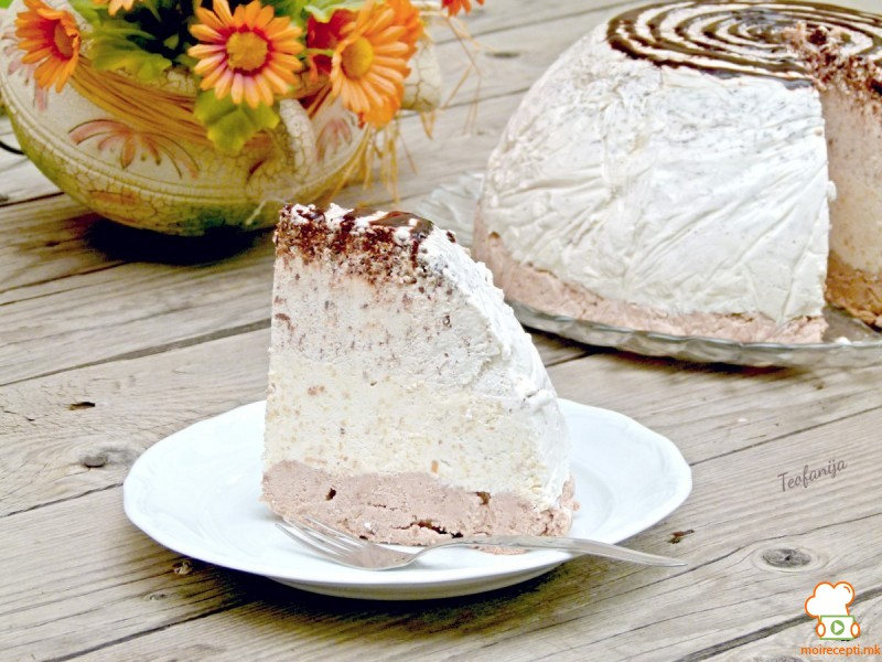 Фереро сладолед торта