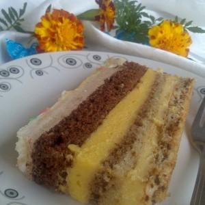 Грандиозна торта од ванила