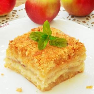Фантастичен колач со јаболка (посно)