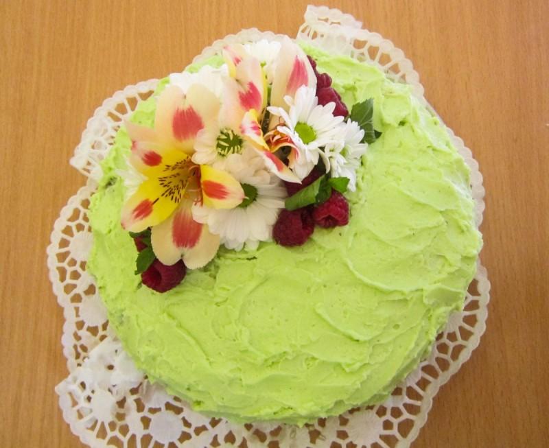 Лимета торта со кокос и бело чоколадо