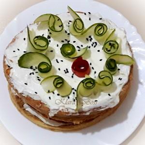 Солена лисната тортичка
