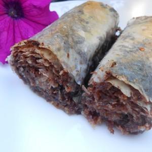 Чоколадна-орев баклава