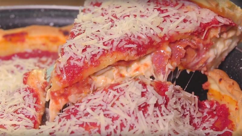 Видео рецепт: Пица во Чикаго стил