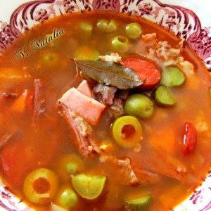 Руска супа Сољанка