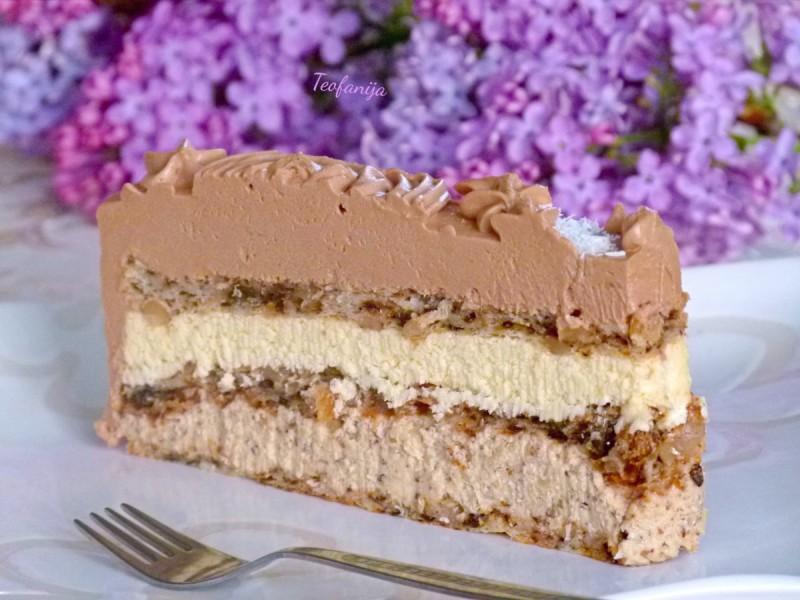 Богата континентал торта