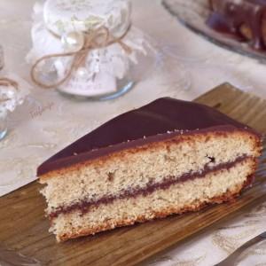 Путер колач со кафе и чоколадо